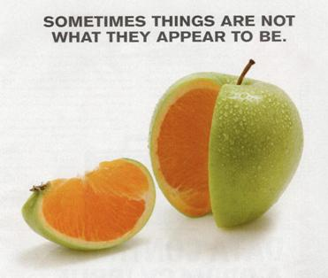 things are not always what they Bible verses about things are not always what they seem.